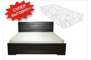 Кровать Кармен + Матрас Классик 2 в 1 (140х200)