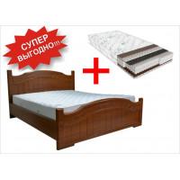 Кровать Доминика + Матрас Дейли 2 в 1 (140х200)