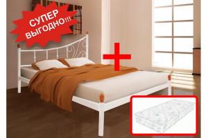 Кровать Калипсо + Матрас Экстра (140х200)