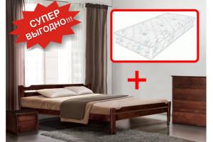 Кровать Ольга + Матрас Стандарт Плюс (140х200)