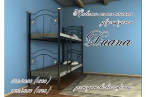 Кровать металлическая Диана (двухярусная)
