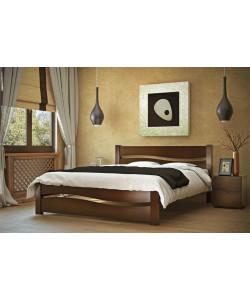 Деревянная кровать Волна