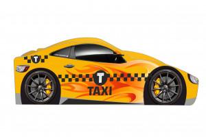 Кровать-машинка Такси с подъемником Бренд