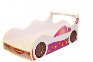 Кровать-машинка Лили с ящиком Форсаж