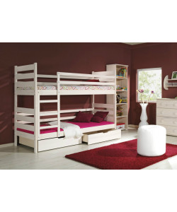 Двухъярусная деревянная кровать Амели