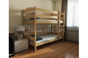 Двухъярусная деревянная кровать Лакки