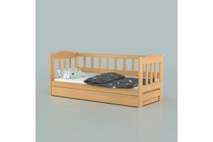 Деревянная кровать Лео с подъемным механизмом ТМ Луна