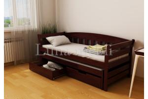 Деревянная кровать Тедди Дуо