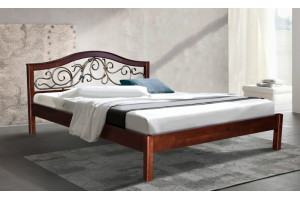 Деревянная кровать ИЛОНА МИКС-Мебель