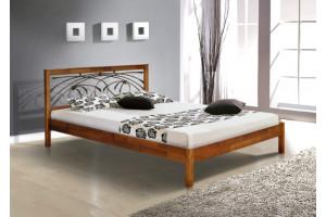 Деревянная кровать КАРИНА МИКС-Мебель