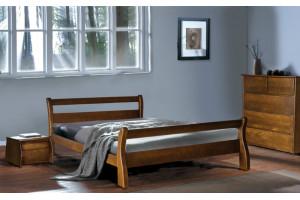 Деревянная кровать МОНРЕАЛЬ (ольха) МИКС-Мебель
