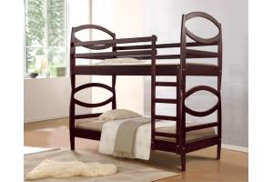 Двухъярусная деревянная кровать ВИКТОРИЯ МИКС-Мебель