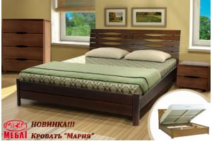 Деревянная кровать МАРИЯ МИКС-Мебель