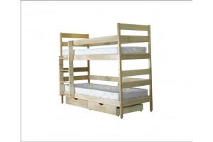 Двухъярусная деревянная кровать ДИСНЕЙ МИКС-Мебель