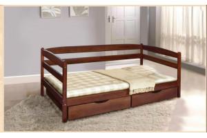 Деревянная кровать ЕВА МИКС-Мебель