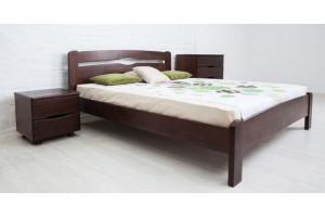 Деревянная кровать КАРОЛИНА МИКС-Мебель