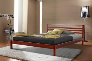 Деревянная кровать ДИАНА МИКС-Мебель