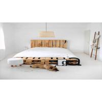 Кровать из поддонов (паллет) своими руками: подбираем недорогой матрас