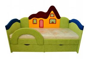 Кровать детская ДОМИК Ribeka (Рибека)