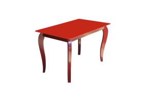 Стеклянный стол ИМПЕРАТОР РЭДВУД РЕД Sentenzo (Сентензо)