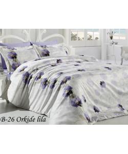Постельное белье First Choice, бамбук, сатин B-26 Orkide Lila (ФЁСТ ЧОИС)