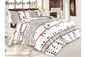 Постельное белье First Choice, бамбук, сатин Rana kahve B014 (ФЁСТ ЧОИС)