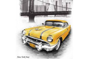 Постельное белье Mariposa Bamboo Satin Print 3D New York Taxi (МАРИПОСА)