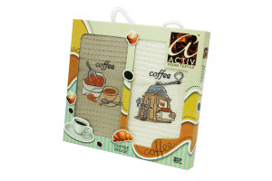 Набор кухонных полотенец Activ Coffee 2 (Актив)