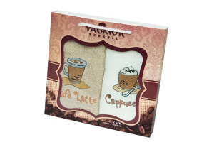 Набор кухонных полотенец Yagmur Coffee 2 (Ягмур)
