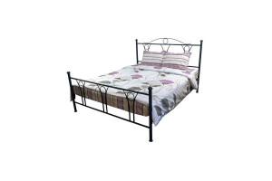 Комплект постельного белья 20-0803 Grey Black двойной