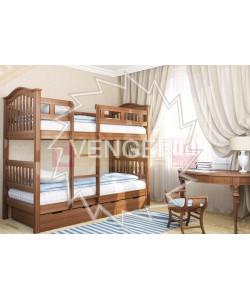 Двухъярусная кровать Максим (з шухлядами) Венгер