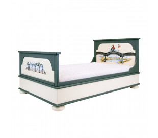 Детские кровати Цвет кровати Венге