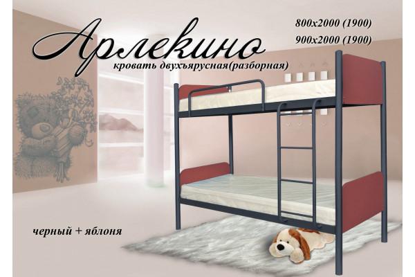 Кровать металлическая Арлекино